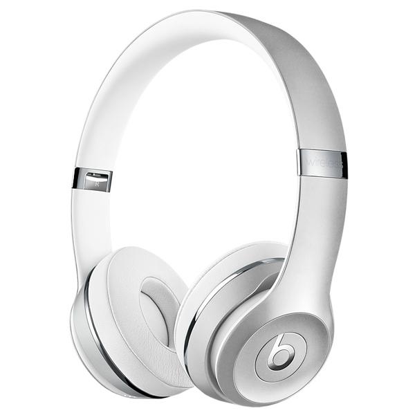 Наушники Apple Beats Solo 3 WL серебристые MNEQ2ZE/A наушники apple beats solo 2 wl красный mh8y2zm a