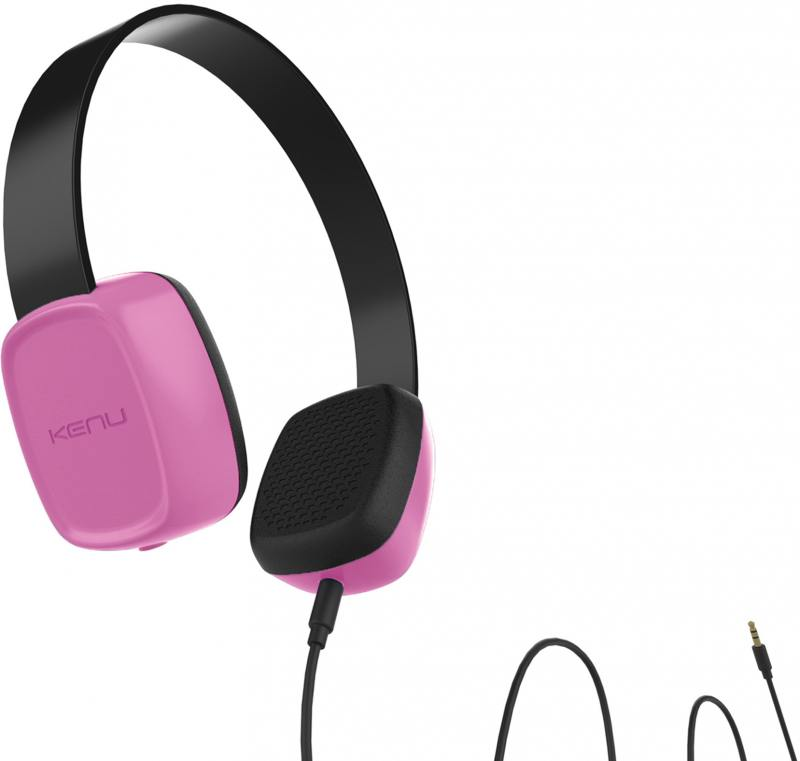 Наушники Kenu Groovies GV1-PK-NA розовый цена и фото