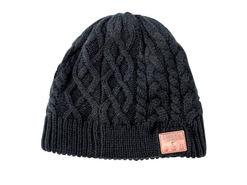 Bluetooth-гарнитура KREZ Talking Hat Шапка со стерео-гарнитурой черный bluetooth гарнитура philips shb5850 черный shb5850bk 51