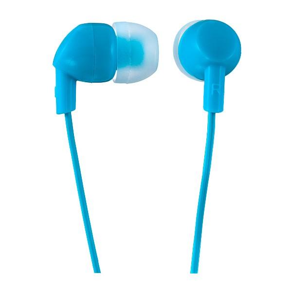 Наушники Perfeo IPOD PF-IPD-BLU Проводные / Внутриканальные / Синий / 20 Гц - 20 кГц / 95 дБ / Двухстороннее / Mini-jack / 3.5 мм наушники bbk ep 1190s синий проводные внутриканальные синий 20 гц 22 кгц 98 дб двухстороннее mini jack 3 5 мм