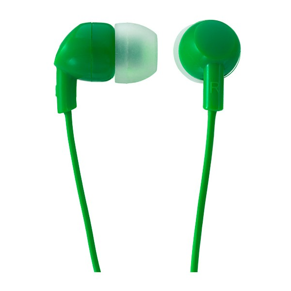 Наушники Perfeo IPOD PF-IPD-GRN Проводные / Внутриканальные / Зеленый / 20 Гц - 20 кГц / 95 дБ / Двухстороннее / Mini-jack / 3.5 мм цена