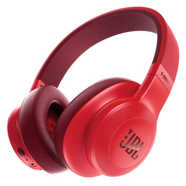 Наушники JBL E55BT Red jbl synchros e40bt