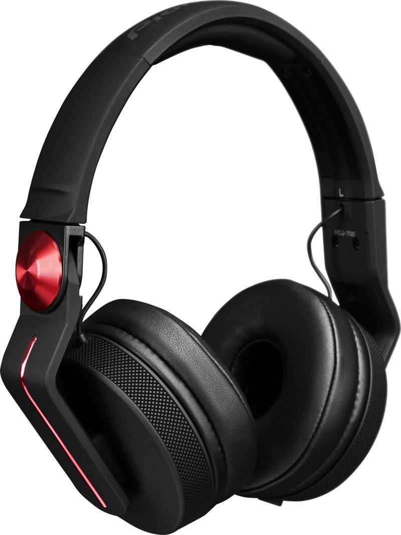 все цены на Наушники Pioneer HDJ-700-R красный онлайн