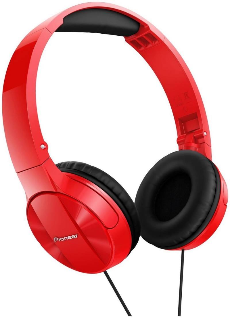 Наушники Pioneer SE-MJ503-R красный наушники накладные pioneer se ms5t s