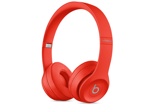 Наушники Apple Beats Solo3 Wireless On-Ear Headphones красный MP162ZE/A beats наушники studio wireless over ear headphones