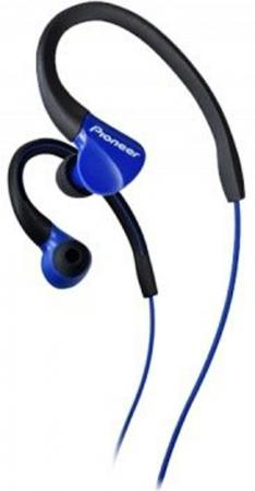 Наушники Pioneer SE-E3-L Blue Проводные / Внутриканальные / Синий / 8 Гц - 22 кГц / 100 дБ / Двухстороннее / Mini-jack / 3.5 мм наушники bbk ep 1190s синий проводные внутриканальные синий 20 гц 22 кгц 98 дб двухстороннее mini jack 3 5 мм