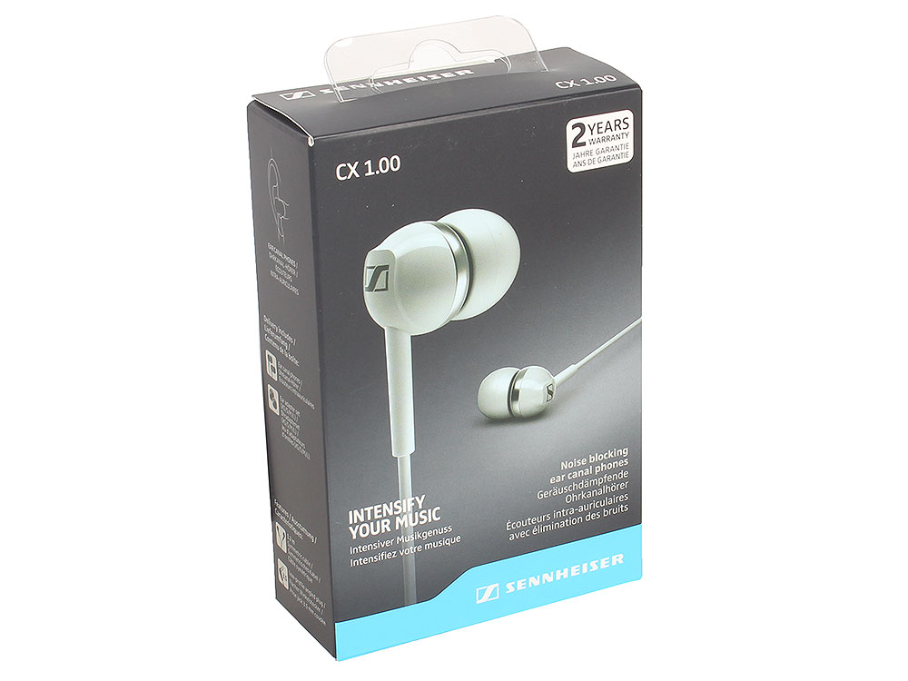 CX 1.00 white sennheiser cx 3 00 шумоизолирующие наушники white