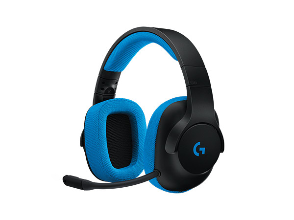 (981-000703) Гарнитура Logitech Gaming Headset G233 Prodigy Black/Cyan logitech g213 prodigy gaming keyboard with 16 8 million lighting colors