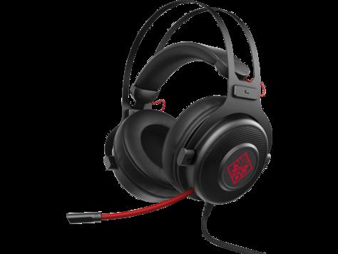 Гарнитура HP OMEN 800 Headset Black/Red 1KF76AA#ABB наушники dialog aria hp a65 черный красный hp a65 black red