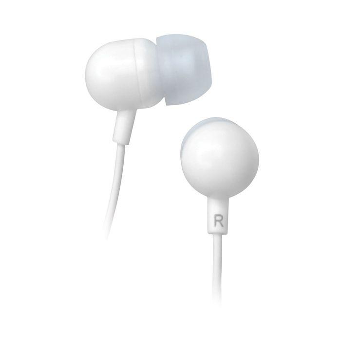 Наушники BBK EP-1160S белый Проводные / Внутриканальные / Белый / 20 Гц - 22 кГц / 98 дБ / Двухстороннее / Mini-jack / 3.5 мм