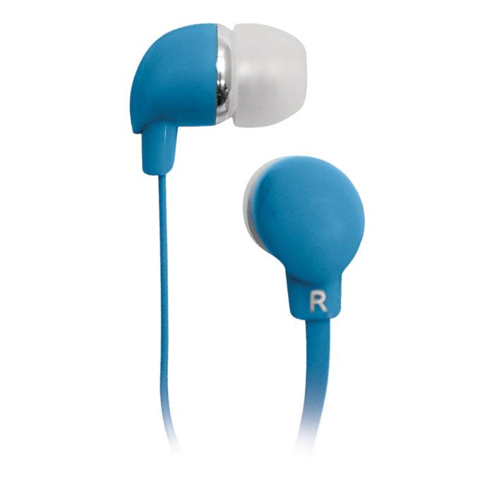 Наушники BBK EP-1190S синий Проводные / Внутриканальные / Синий / 20 Гц - 22 кГц / 98 дБ / Двухстороннее / Mini-jack / 3.5 мм наушники dialog ep f15 синий