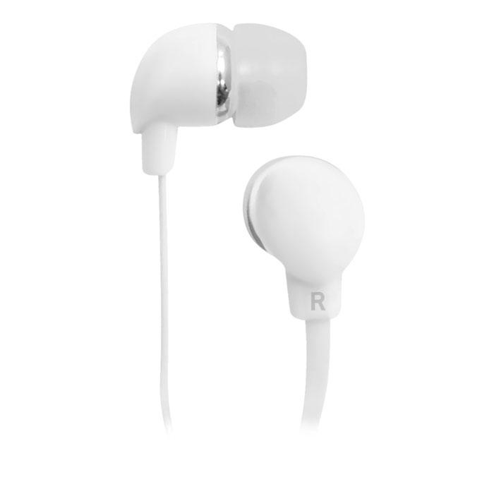 Наушники BBK EP-1190S White Проводные / Внутриканальные / Белый / 20 Гц - 22 кГц / 98 дБ / Двухстороннее / Mini-jack / 3.5 мм наушники dialog ep 50 проводные внутриканальные черный красный 20 гц 20 кгц двухстороннее mini jack 3 5 мм