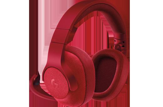 все цены на  (981-000652) Гарнитура Logitech 7.1 Surround Gaming Headset G433 FIRE RED  онлайн