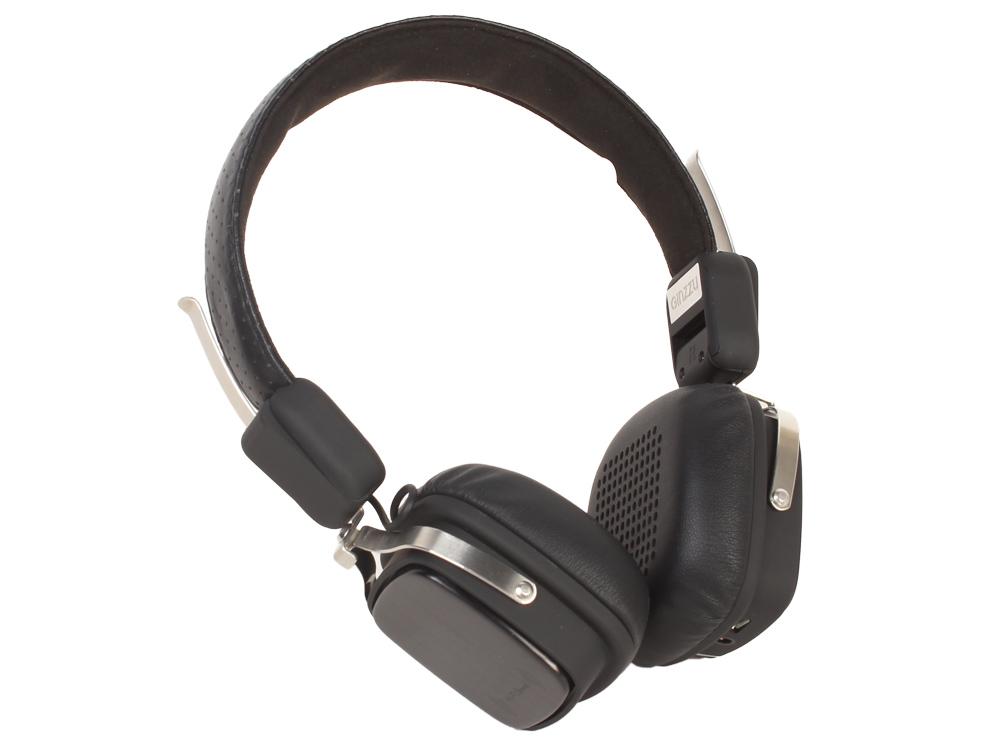 Наушники беспроводные GINZZU GM-571BT, S5, черные, наушники/гарнитура BLUETOOTH наушники беспроводные ginzzu gm 451bt черные с микрофоном