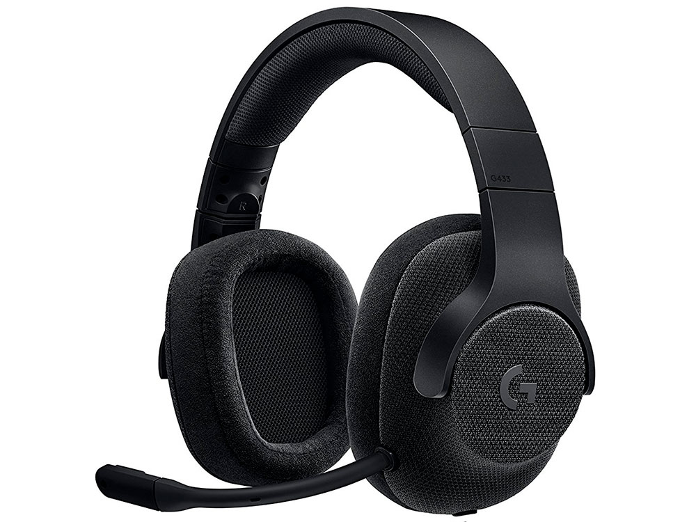 все цены на  (981-000668) Гарнитура Logitech 7.1 Surround Gaming Headset G433 TRIPLE BLACK  онлайн