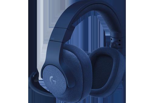 все цены на  (981-000687) Гарнитура Logitech 7.1 Surround Gaming Headset G433 ROYAL BLUE  онлайн