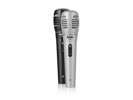Микрофон BBK CM215 черно-серебристый 2шт цена 2017