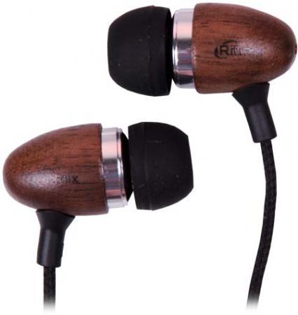 Наушники Ritmix RH-158 коричневый Проводные / вставные / коричневый / 20 Гц - 20 кГц / 92 дБ / двустороннее / Mini-jack / 3.5 мм штора тюлевая на шт ленте sanpa мери полуорганза 300х280см бирюзовая