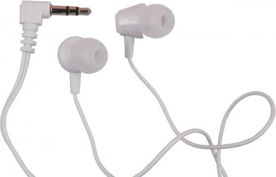 Наушники Ritmix RH-011 White Проводные / Внутриканальные / Белый / 20 Гц - 20 кГц / 100 дБ / Двухстороннее / Mini-jack / 3.5 мм ritmix rh 011 white наушники