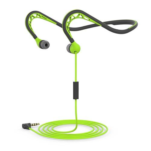 Гарнитура HARPER HV-303 green Проводные / Внутриканальные с микрофоном / Зеленый / 20 Гц - 20 кГц / Двухстороннее / Mini-jack / 3.5 мм