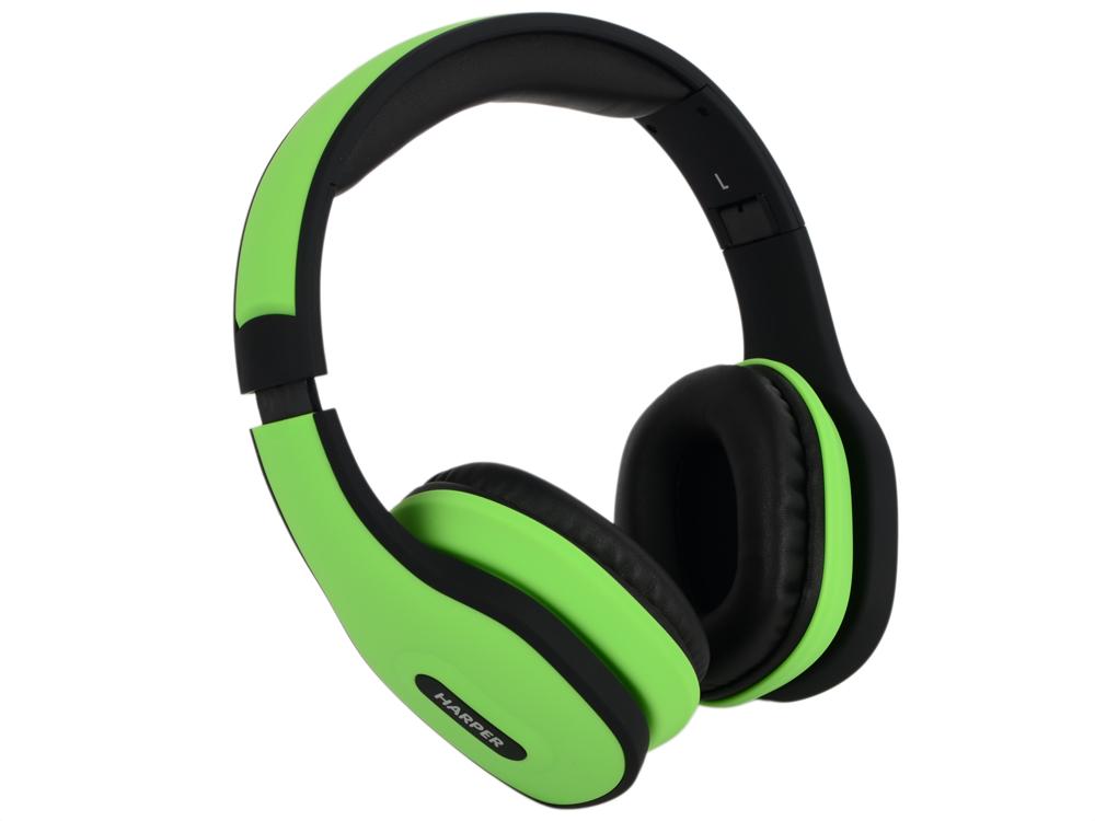Гарнитура HARPER HB-401 Green наушники с оголовьем harper hb 401 green с микроф зел