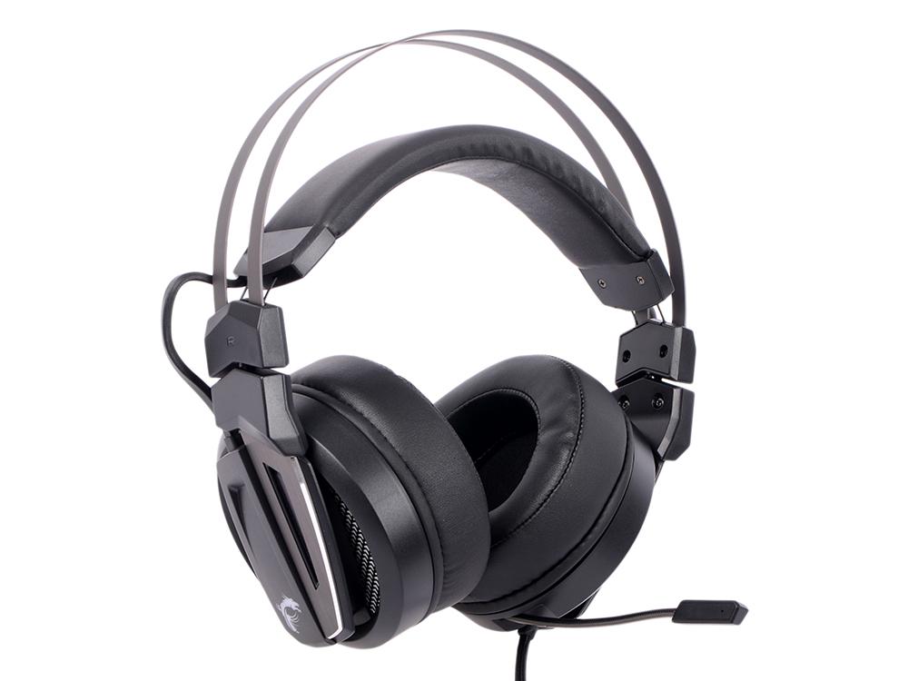 Гарнитура MSI Immerse GH70 GAMING Headset Проводные / Полноразмерные с микрофоном / Черный / 20 Гц - 40 кГц / 100 дБ / Одностороннее / USB