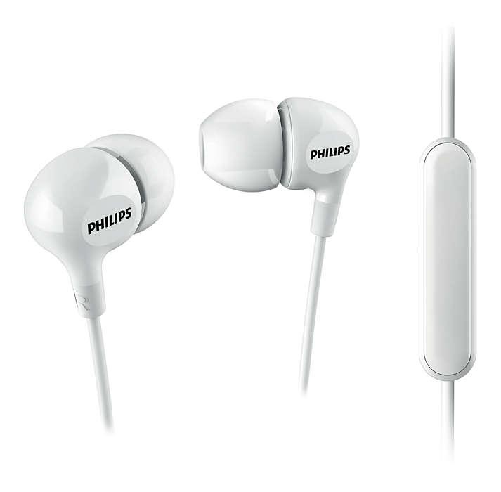 Гарнитура Philips SHE3555WT/00 белый гарнитура philips she3515wt 00 белый