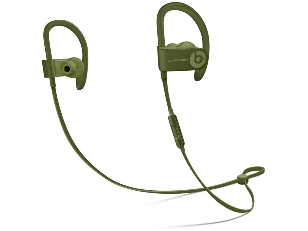 Гарнитура Apple Beats Powerbeats 3 зеленый наушники apple beats powerbeats 3 wl черный ml8v2ze a