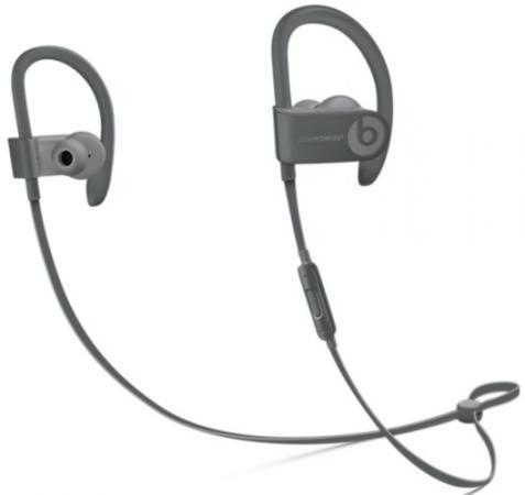Гарнитура Apple Beats Powerbeats 3 серый MPXM2ZE/A наушники apple beats powerbeats 3 wl желтый mnn02ze a