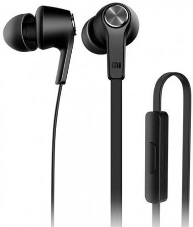 Наушники Xiaomi Mi In-Ear Headfones Basic черный ZBW4354TY наушники xiaomi mi in ear headfones basic голубой