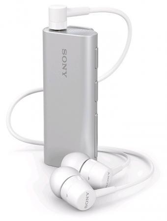Bluetooth-гарнитура SONY SBH56 серебристый наушник sony sbh56 серебристый