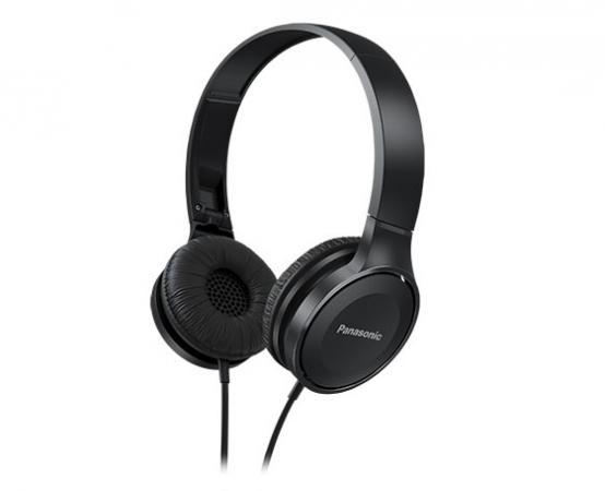 Наушники Panasonic RP-HF100GC-K Black Проводные / Накладные / Черный / 10 Гц - 23 кГц / 103 дБ / Двухстороннее / Mini-jack / 3.5 мм наушники panasonic rp hf100gc k черный