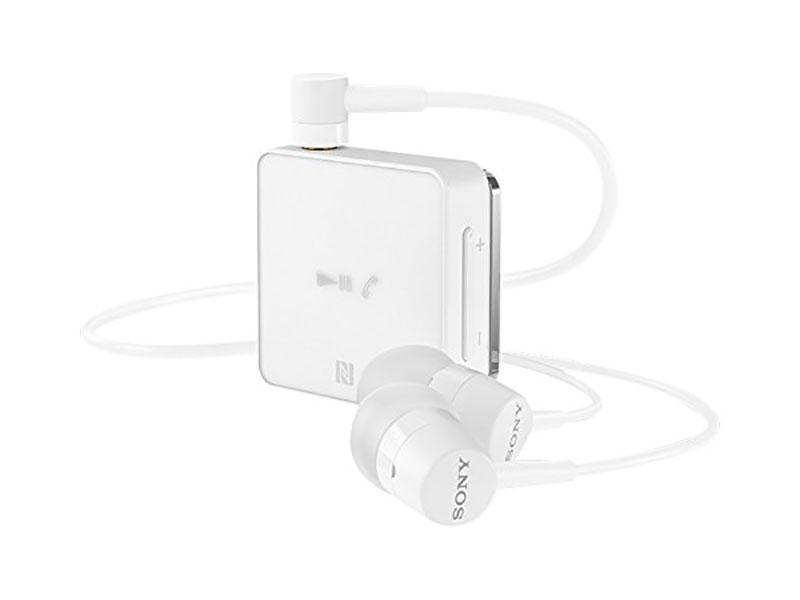 Bluetooth-гарнитура SONY SBH24 белый Беспроводные, проводные / Внутриканальные с микрофоном / Белый / двустороннее / до 6 ч / Bluetooth, Mini-jack / 3.5 мм