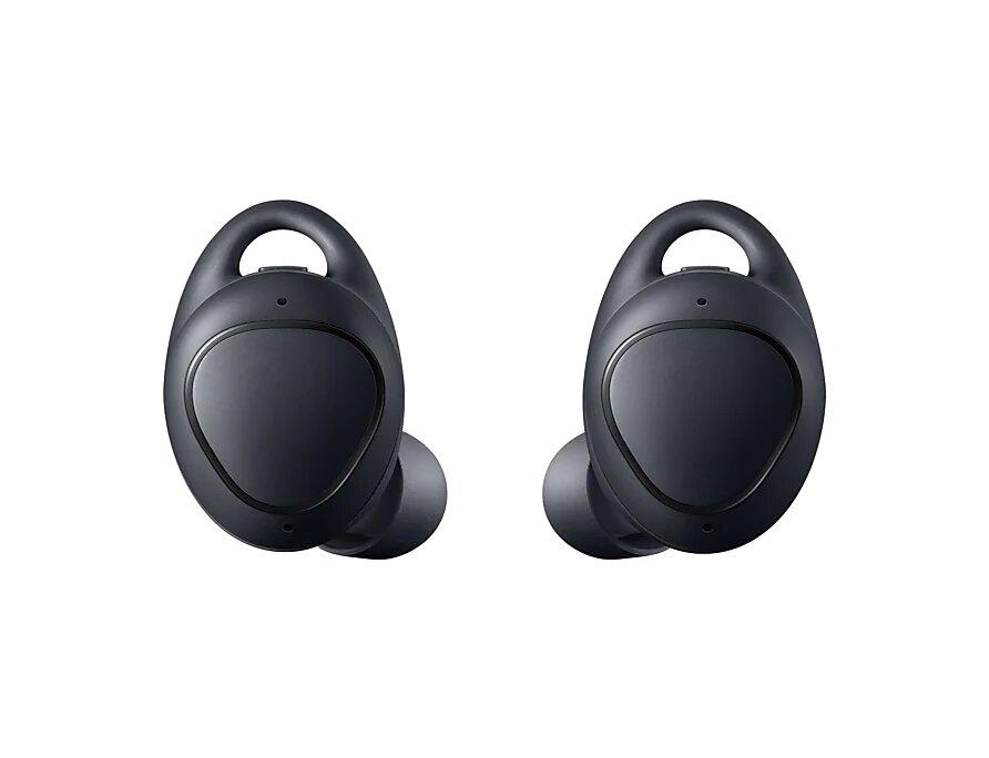 Bluetooth-гарнитура Samsung Gear IconX SM-R140N черный SM-R140NZKASER wavors charging cradle dock replace wristbands for samsung gear s smart watch sm r750 accessory