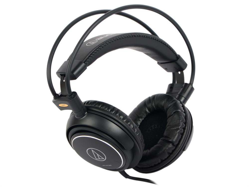 Наушники Audio-Technica ATH-AVC500 Проводные / Накладные / Черный / 10 Гц - 25 кГц / 106 дБ / Одностороннее / Mini-jack / 3.5 мм охватывающие наушники audio technica ath avc500 black