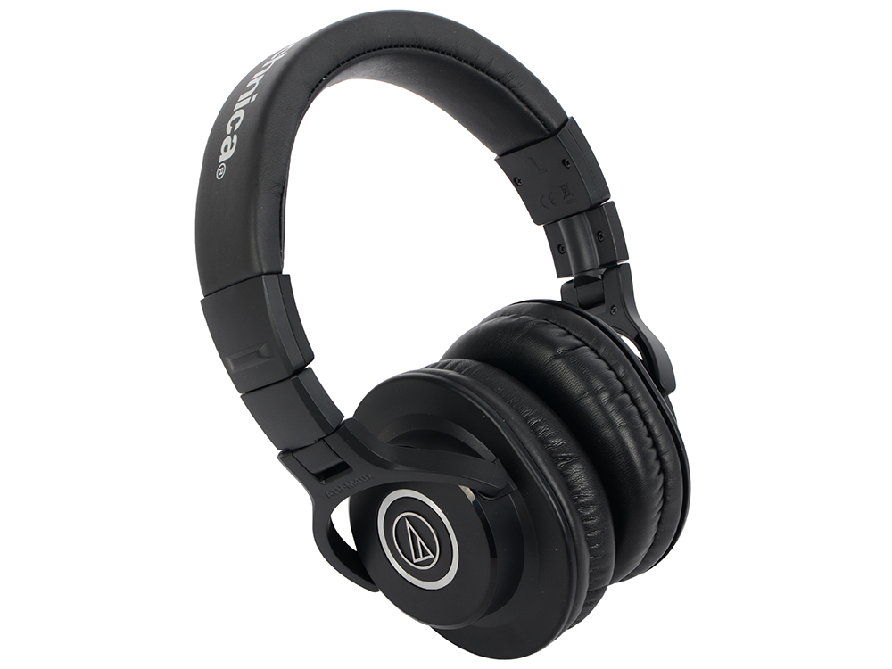 Наушники Audio-Technica ATH-M40X Проводные / Накладные / Черный / 15 Гц - 24 кГц / 98 дБ / Одностороннее / Mini-jack / 3.5 мм 8 inch grils large cheerleading hair bows with elastic band grosgrain ribbon cheer bow with gold silver organza hair accessories