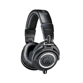 Наушники Audio-Technica ATH-M50X Black Проводные / Накладные / Черный / 15 Гц - 28 кГц / 99 дБ / Одностороннее / Mini-jack / 3.5 мм гарнитура audio technica ath ckl220 black