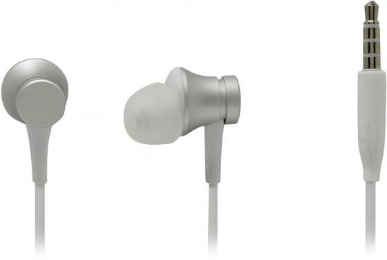 Наушники Xiaomi Mi In-Ear Headphones Basic серебристый mi in ear headphones basic black