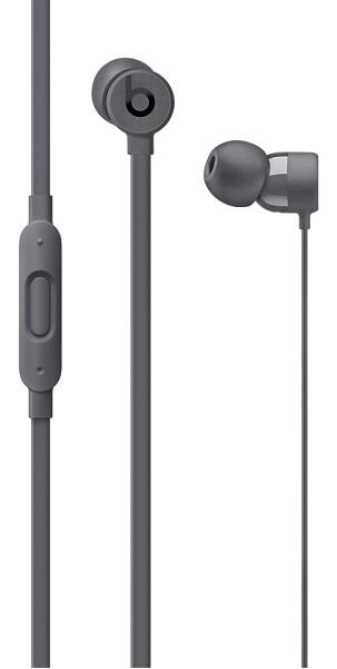 Наушники Apple Beats urBeats3 серый MQFX2ZE/A Проводные / Внутриканальные с микрофоном / Серый / Двухстороннее / Mini-jack / 3.5 мм внутриканальные наушники campfire audio andromeda green