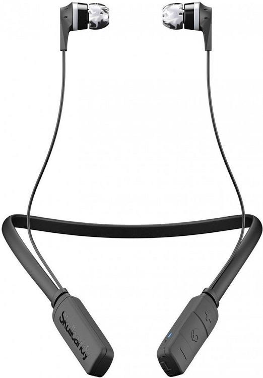 Наушники (гарнитура) Skullcandy INK'D 2.0 Wireless Black Беспроводная / Внутриканальные с микрофоном / Черный / 20 Гц - 20 кГц / до 7 ч / Bluetooth для сотовых телефонов htc и bluetooth беспроводная гарнитура наушники наушники hm5800