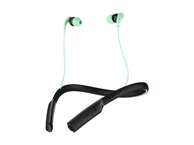Гарнитура Skullcandy METHOD WIRELESS Беспроводные / Внутриканальные с микрофоном / Черный-зеленый / 20 Гц - 20 кГц / до 9 ч / Bluetooth