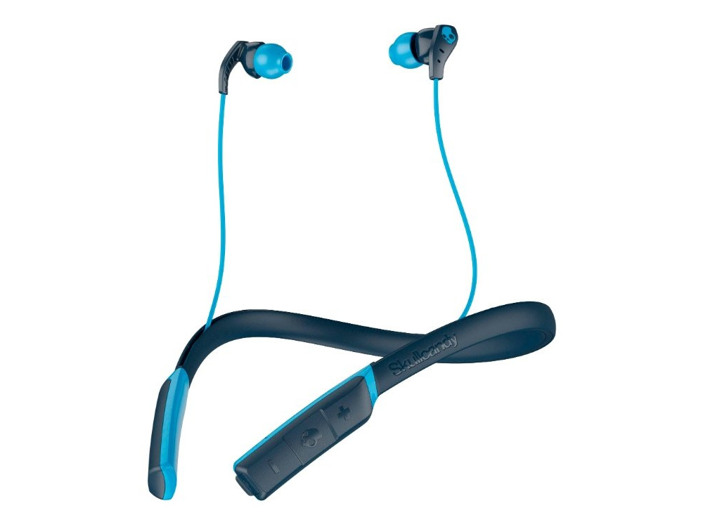 Гарнитура спортивная беспроводная Skullcandy METHOD WIRELESS ТЕМНО Blue Беспроводные / Внутриканальные с микрофоном / Синий / 20 Гц - 20 кГц / до 9 ч / Bluetooth