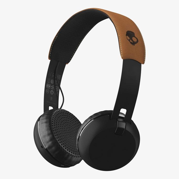 все цены на Гарнитура беспроводная Skullcandy GRIND WIRELESS Беспроводные, проводные / Полноразмерные с микрофоном / Черный, бежевый / Bluetooth, Mini-jack / 3.5 мм онлайн