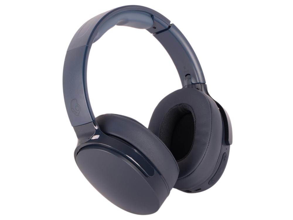 Bluetooth-гарнитура Skullcandy HESH 3 Wireless Blue Беспроводные, проводные / Полноразмерные с микрофоном / Синий / 20 Гц - 20 кГц / до 22 ч / Bluetooth, Mini-jack / 3.5 мм mini wireless in ear micro earpiece bluetooth earphone cordless headphone blutooth earbuds hands free headset for phone iphone 7