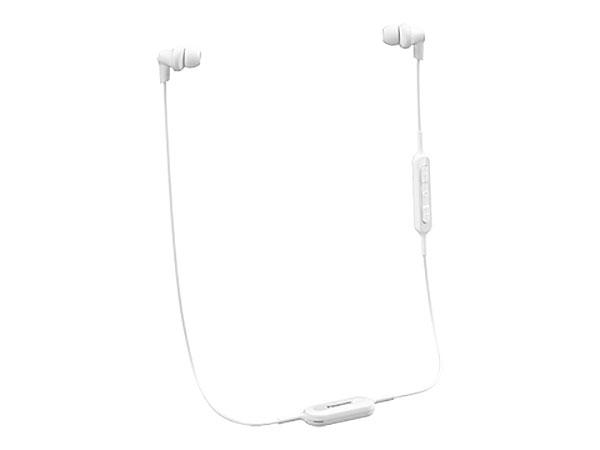 Bluetooth-гарнитура Panasonic RP-NJ300BGCW Беспроводные / Внутриканальные с микрофоном / Белый / до 4 ч / Bluetooth, Micro-USB наушники гарнитура xiaomi mi sports bluetooth earphones white беспроводные вставные с микрофоном белый 88 дб двустороннее до 7 ч bluetooth