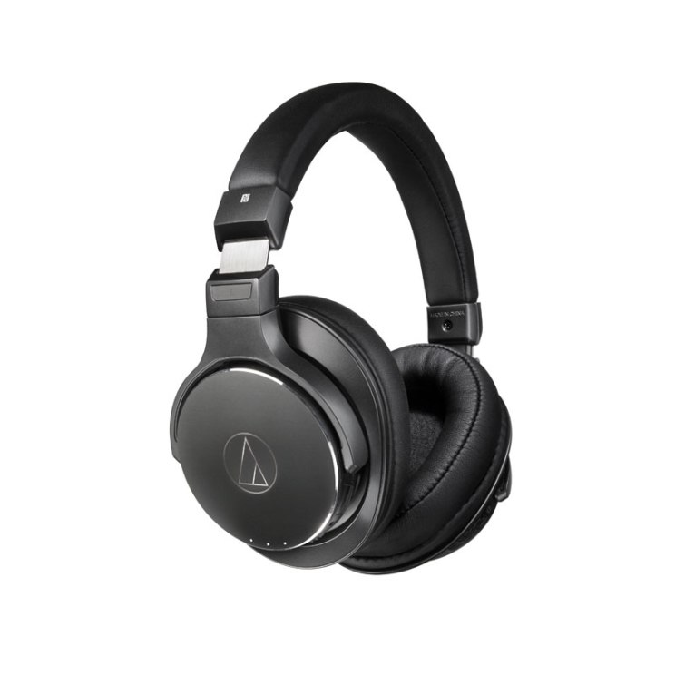Наушники (гарнитура) Audio-Technica ATH-DSR7BT Black Беспроводные / Полноразмерные с микрофоном / Черный / 5 Гц - 40 кГц / 100 дБ / до 15 ч / Bluetooth вставные наушники audio technica ath ckb50 черный купон код jd1601 сумма покупок от 50$ скидка 5$ от 100$ скидка 10$