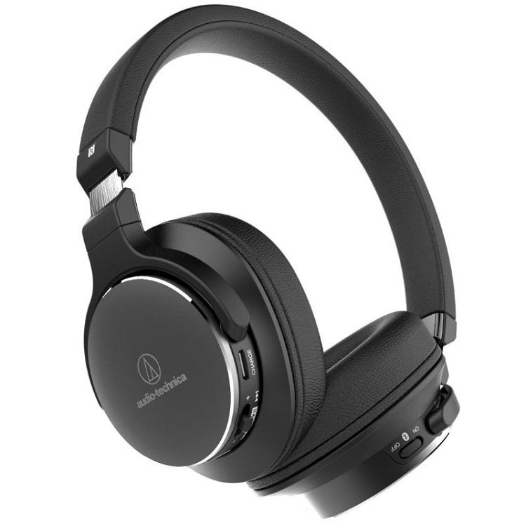 Наушники (гарнитура) Audio-Technica ATH-SR5BT Black Беспроводные, проводные / Полноразмерные с микрофоном / Черный / 5 Гц - 40 кГц / 103 дБ / до 38 ч / Bluetooth, Mini-jack /