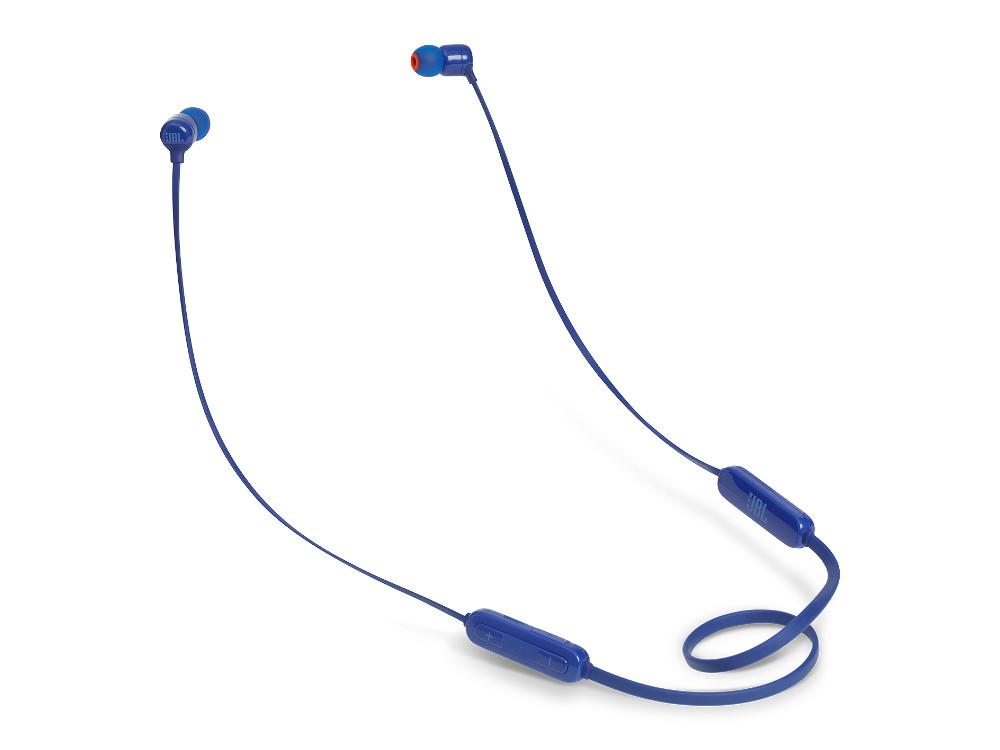 Наушники JBL T110BT Blue Беспроводные / Внутриканальные / Синий / 20 Гц - 20 кГц / 96 дБ / до 6 ч / Bluetooth