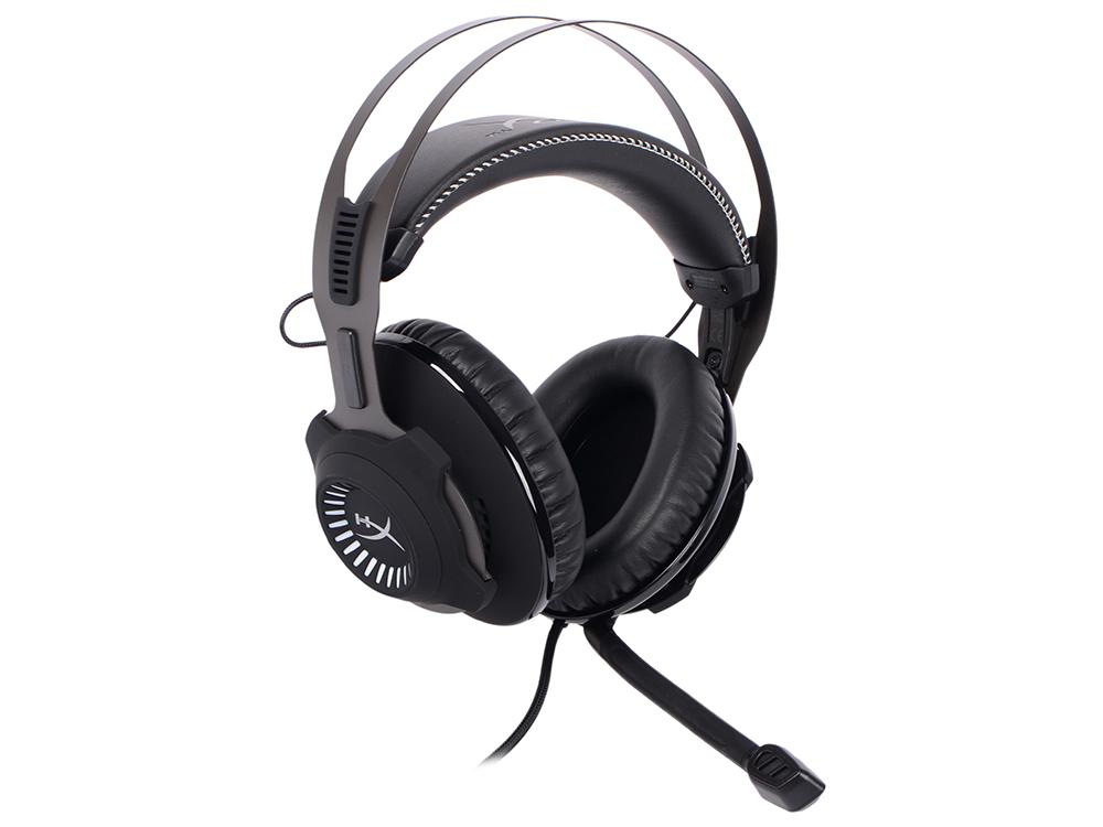 все цены на Наушники (гарнитура) HyperX Cloud Revolver Headset Gun Metal HX-HSCR-GM Black Проводные / Накладные с микрофоном / Черный / 12 Гц - 28 кГц / 104.5 дБ / Mini-jack / 3.5 мм