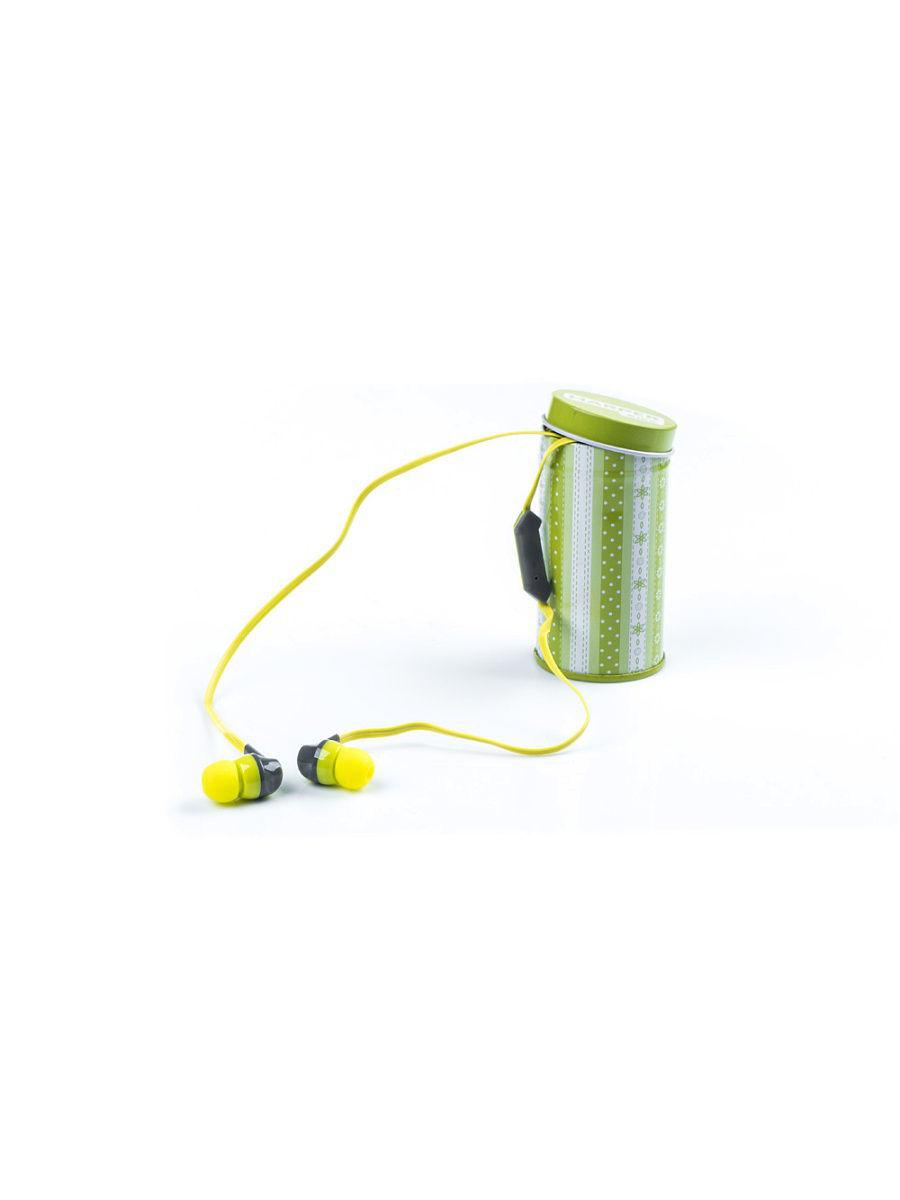 Наушники (гарнитура) HARPER KIDS HK-42 Green Проводные / Внутриканальные с микрофоном / Зеленый / 17 Гц - 21 кГц / 96 дБ / Mini-jack / 3.5 мм наушники bbk ep 1190s black проводные внутриканальные черный 20 гц 22 кгц 98 дб двухстороннее mini jack 3 5 мм